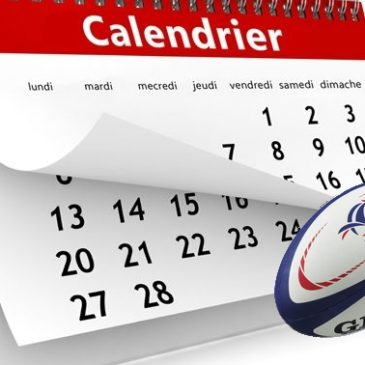 Calendrier Conférence Nord Est 2018-2019 Rugby
