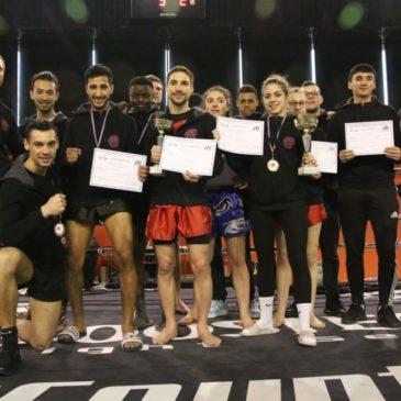 CFU de Kick-Boxing : une razzia !