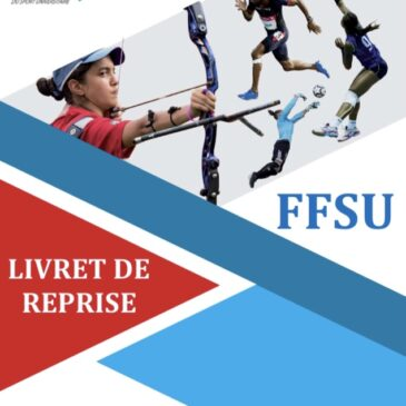 Ligue Bourgogne Franche-Comté – Le Livret de reprise FFSU est paru !
