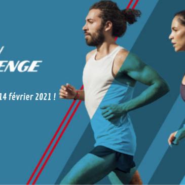 U'RUN CHALLENGE du 15 janvier au 14 février