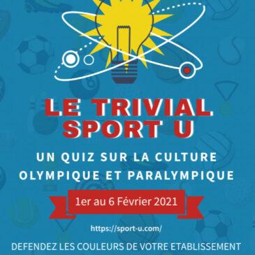 Semaine Olympique et Paralympique 2021 : Le trivial Sport U est lancé !